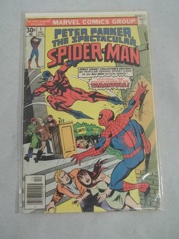 213: 1970's The Spectacular Spiderman Comic #1