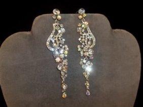 7: Rhinestone Chandelier Earrings