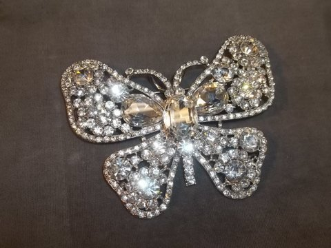 4: Large Butterfly Brooch