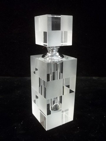 349: Gorgeous Crystal Art Deco Style Perfume Designer