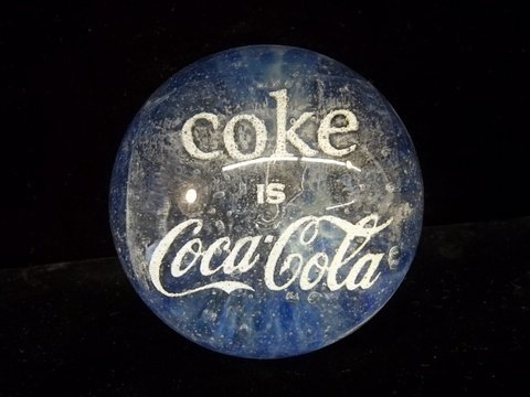 15: Nice Coca Cola Paperweight
