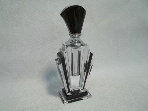 35: Black Deco Crystal Perfume 5.5 inch