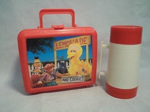 1: Seseme Street Lunchbox & Thermos