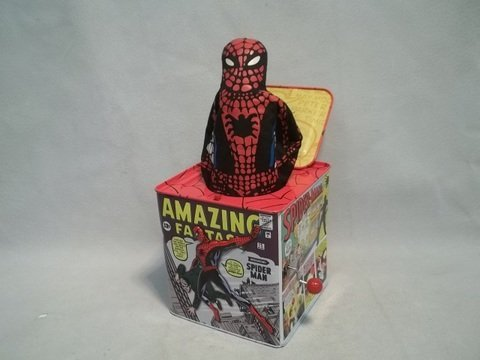 2: 05 Spiderman Schylling Jack In The Box