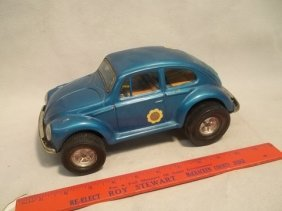 7: Aoshin Japan Tin Volkswagen Vintage Toy Beetle
