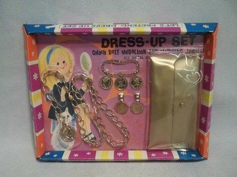 12: Vintage 1969 Dress Up Set Girls MOC