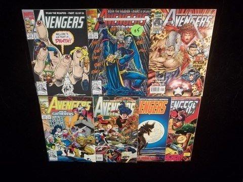 19: 7 1992 Avengers Comic Books VF-NM