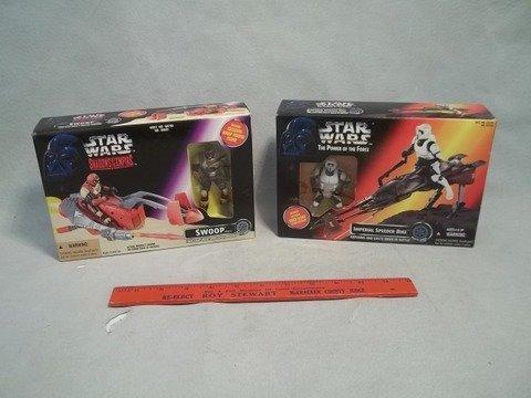 23: 1995 96 Two Star Wars Toys MIB