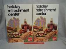 241 2 1973 Cocacola Advertising Signs Standups Nice