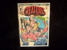 316 1971 Marvel Creatures On The Loose Comic Book
