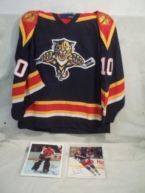 3: Autographed Hockey Photos w/Jersey Pavelbure