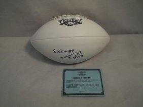 5: Eagles' Desean Jackson Autographed Football w/COA