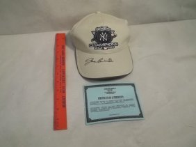 7: Jose Canseco Autographed Yankees Cap