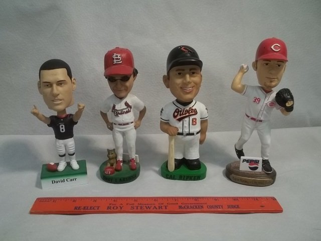 12: 4 Cal Ripken & More Bobbleheads Collection