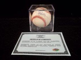 24: Lee Mazilli Autographed Baseball w/COA