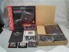 56: Vintage Sega Genesis Game System in Box w/Acces.