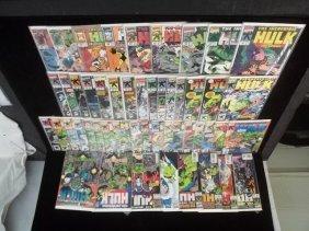 171: Huge Lot of 51 Hulk Comic Books Coll. #360-up VF+