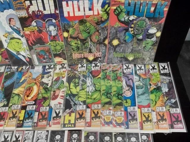 171: Huge Lot of 51 Hulk Comic Books Coll. #360-up VF+ - 4