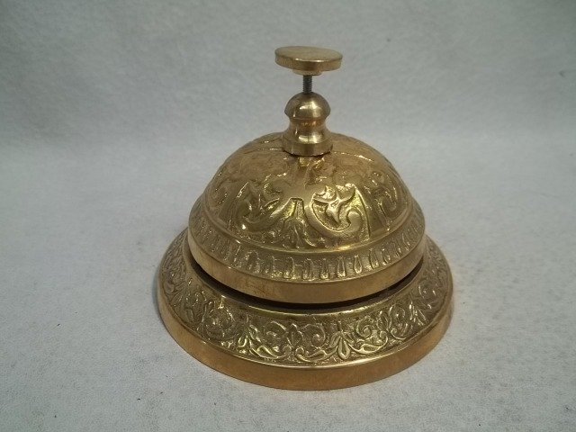 67: Ornate Brass Lobby Bell