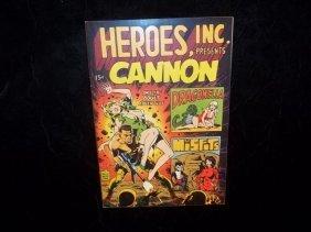 1969 Heroes Inc Comic Wood Ditko Art