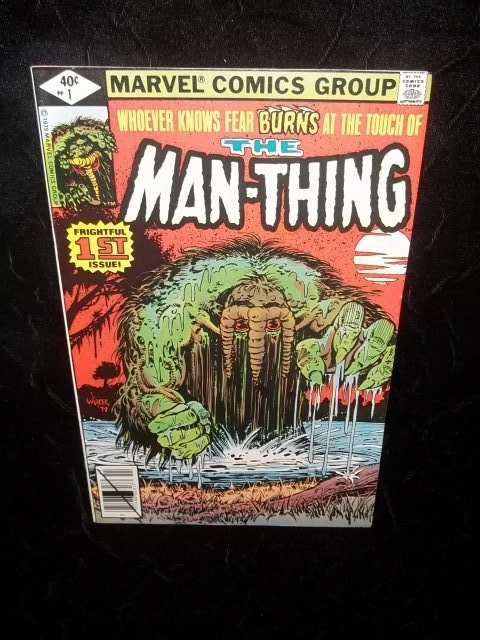 1979 Man-Thing #1 Marvel Comic Book