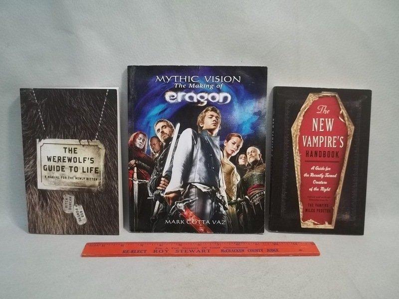 Werewolf Vampires & More Book Lot