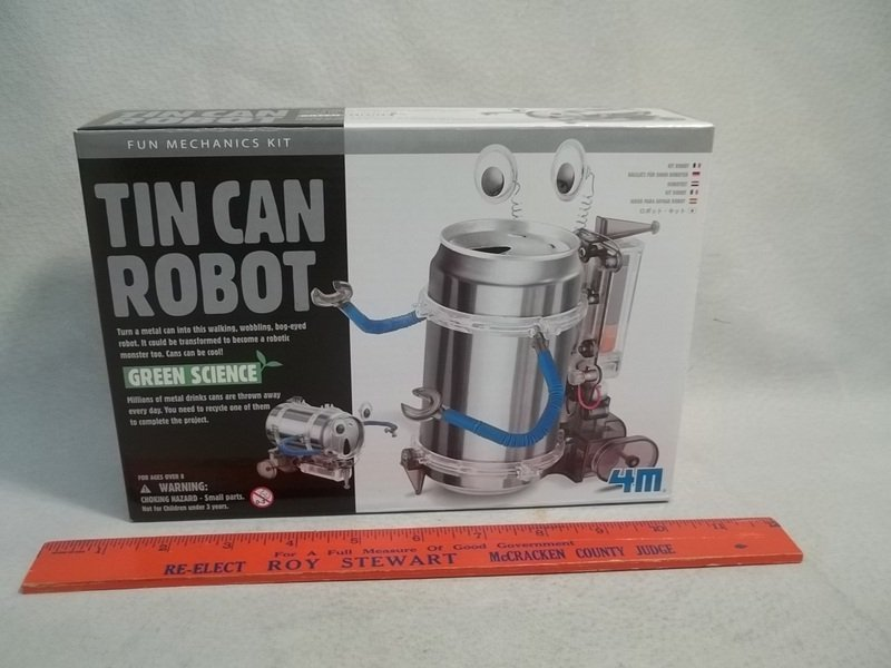 Green Science Tin Can Robot MISB