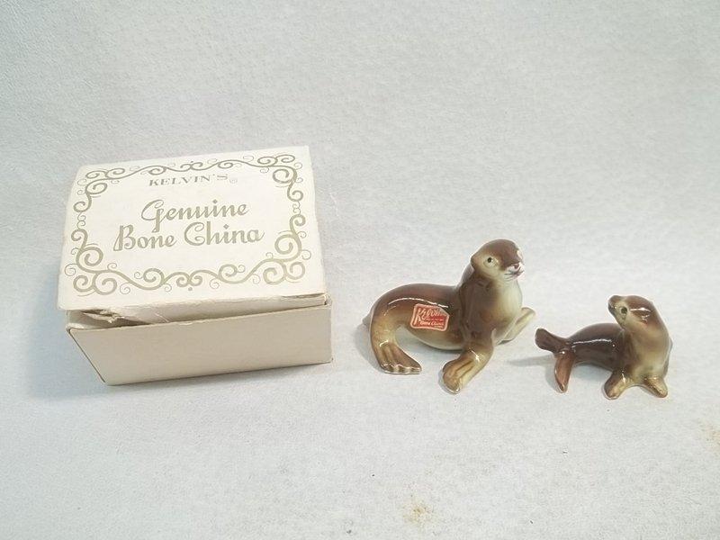 Vintage Japan Kelvin Seals MIB Bone China