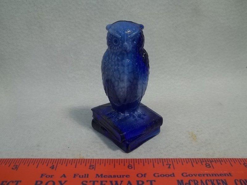 Cobalt Slag Owl
