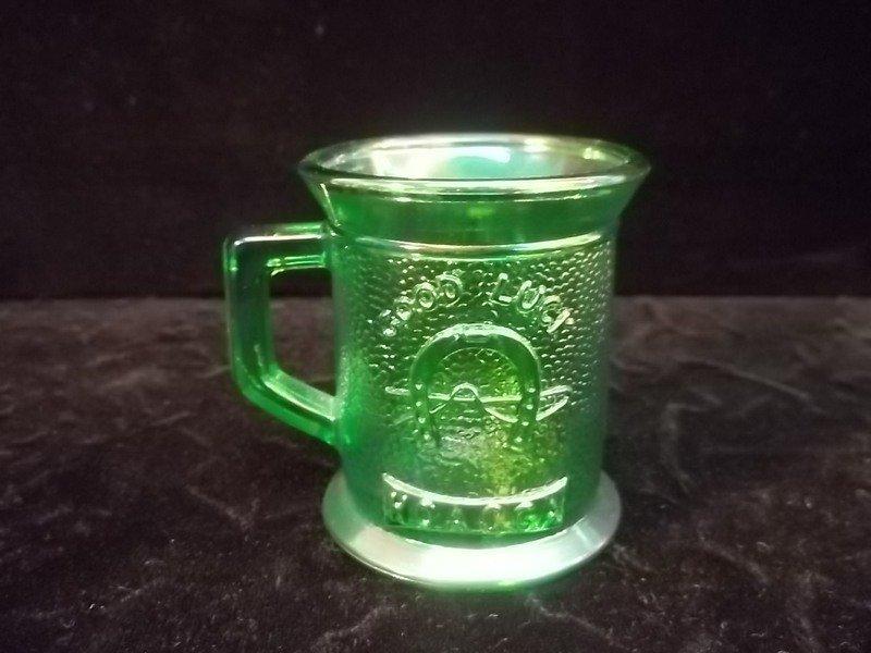 Green Carnival Good Luck Mug