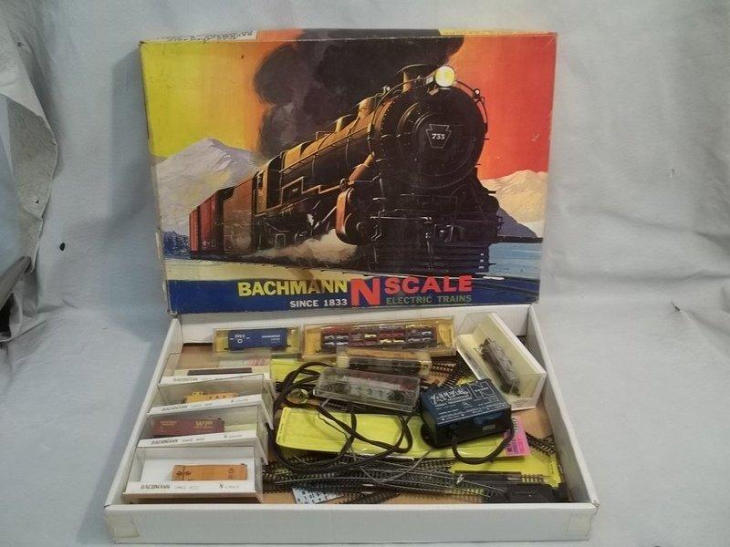 Vintage Bachman N Gauge Train Set in Box