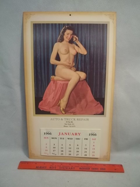 Pin Up Girl Calender