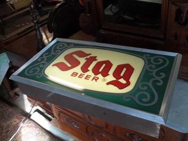 Old Stag Beer Sign Works