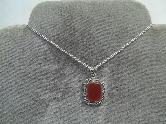 Nice Sterling Silver Pendant on Chain