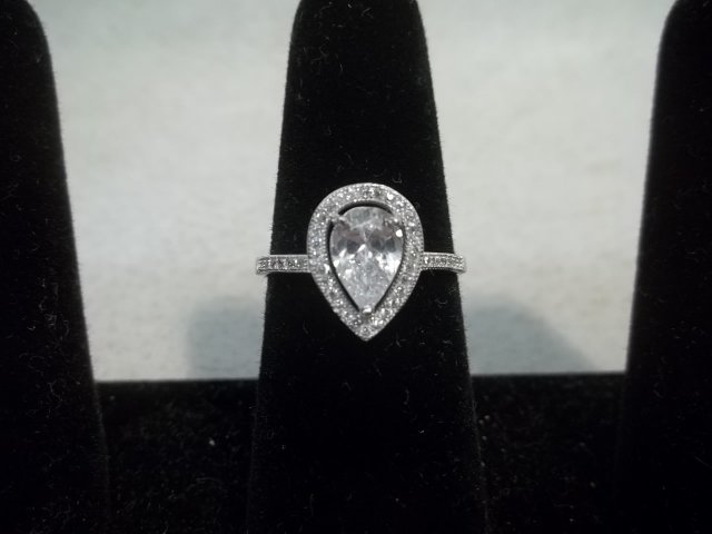 Sterling Silver Evening Ring
