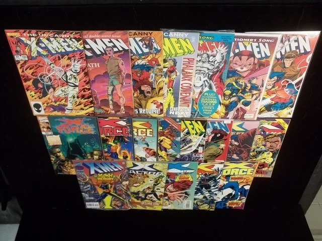 20 Xmen Comic Book Lot VF-NM