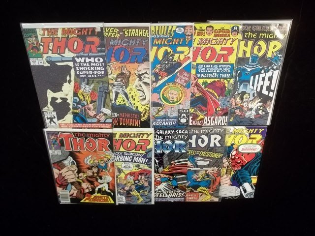10 Thor Comic Book Lot VF-NM