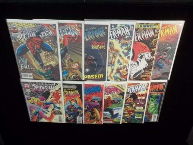 12 Spiderman Comic Book Lot VF-NM