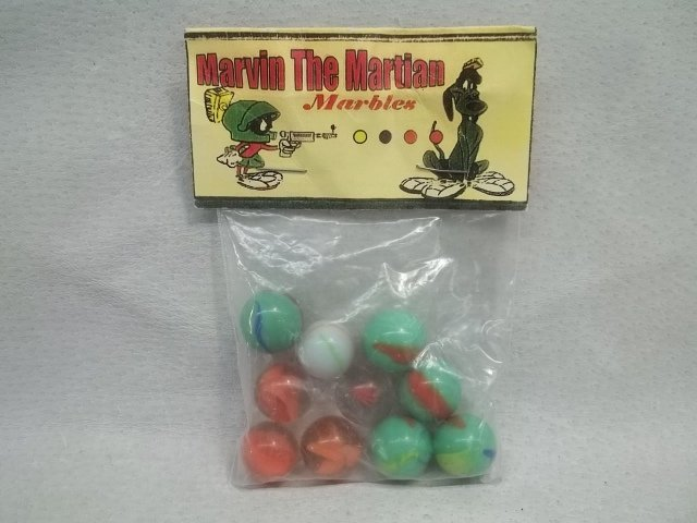 Marvin The Martian Marble Bag