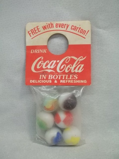 Coca Cola Jumbo Shooter marble bag