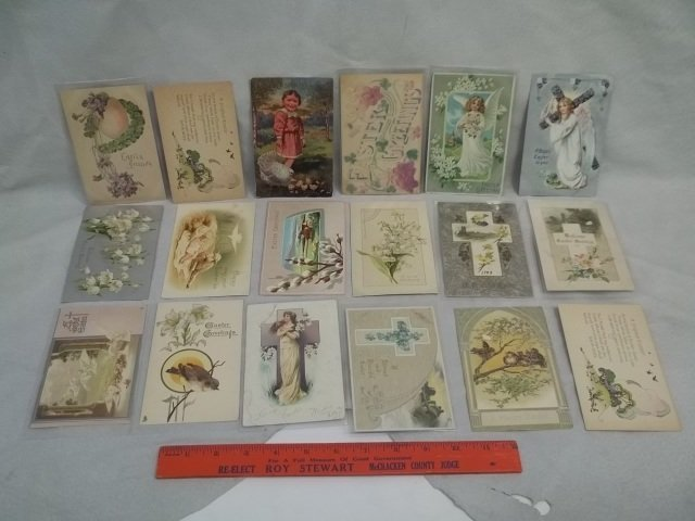 18 1908-09 Easter Postcards