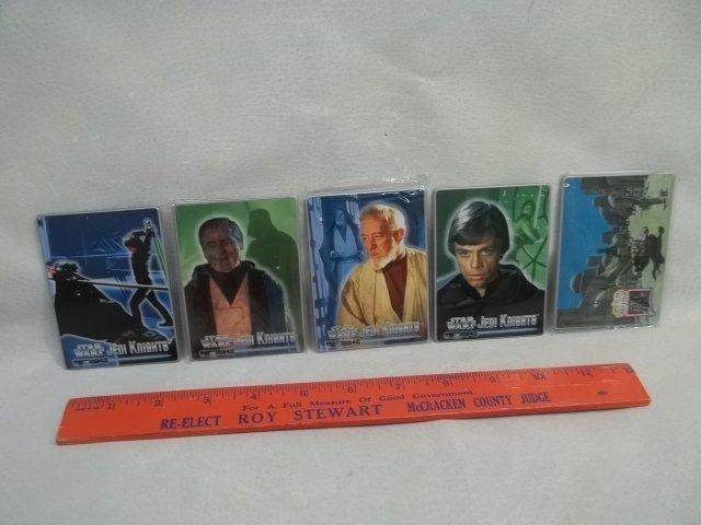 5 Metal Star Wars Cards