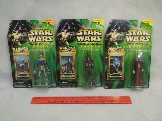 3 Star Wars MOC Figures
