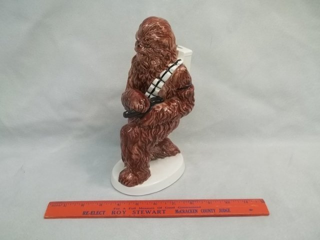 Vintage Sigma Ceramic Chewbacca Bank