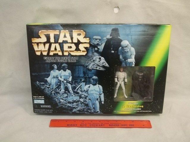 Star Wars Parker Bros Death Star Game MISB