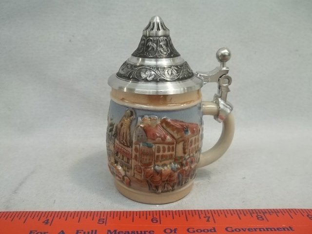 Nice Miniature Gerz German Beer Stein