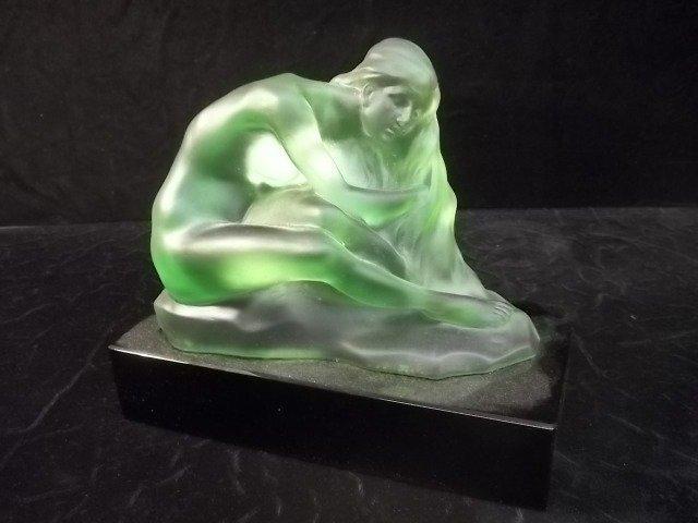Nice Roubleff Pate De Vera Nude Lady Statue