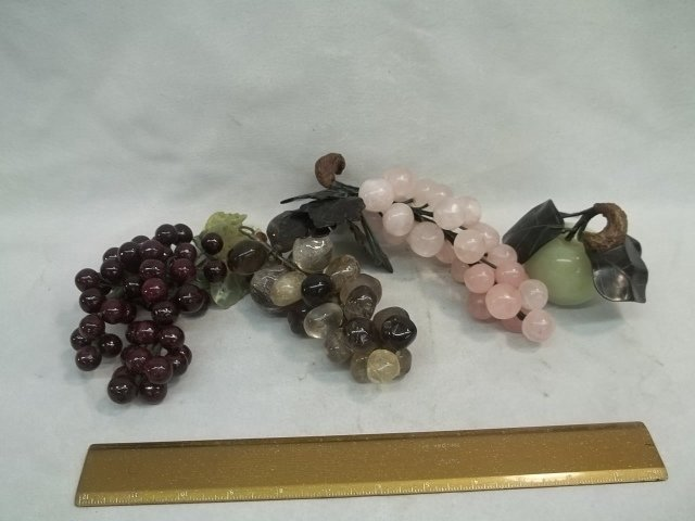 Glass Grapes Lot