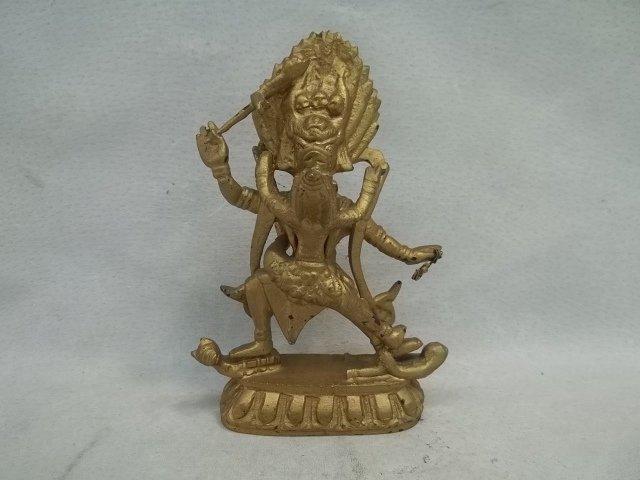 Metal Hindu Statue 5 Inch