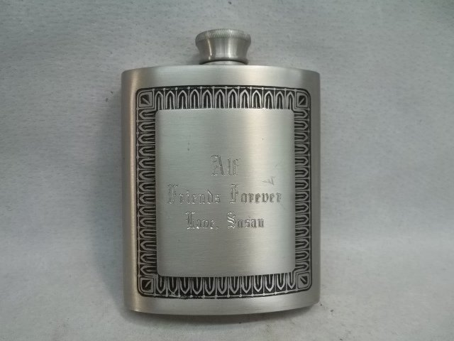 Selwin Pewter Whisky Flask